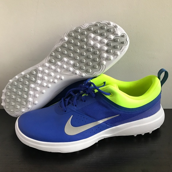 new product 9a51b 77b6d Nike Akamai Golf Shoes Women Sz 7 Blue